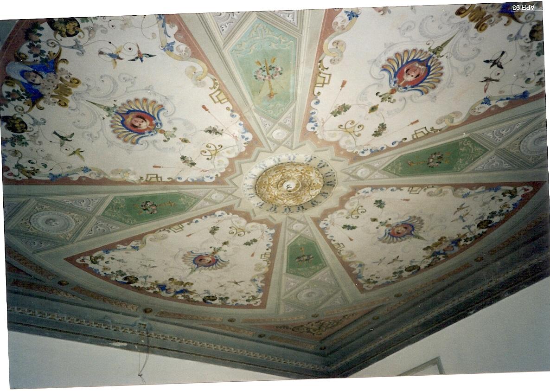 Ex casa di Modena soffitto tinello